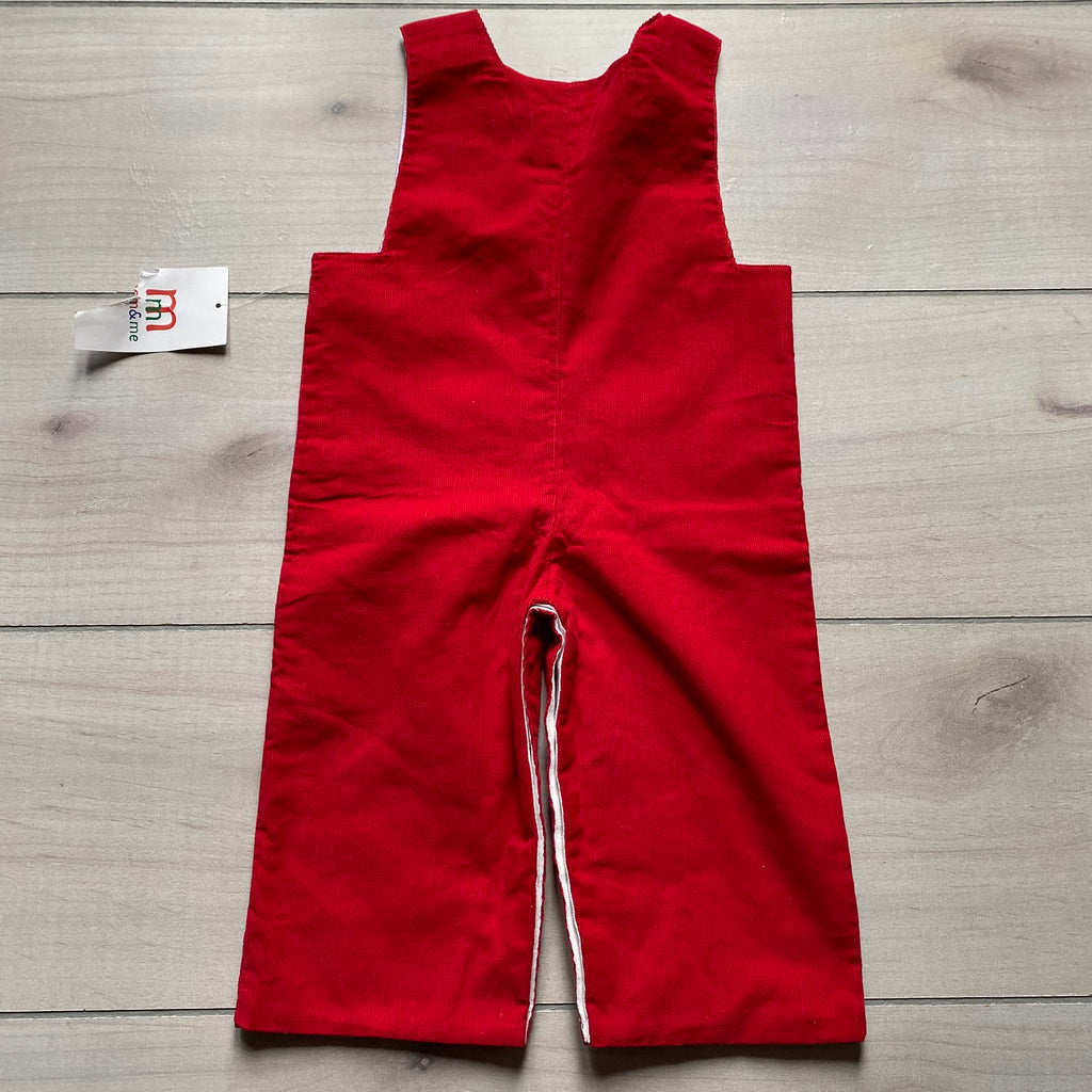 NEW Mom & Me Red Corduroy Boutique Romper