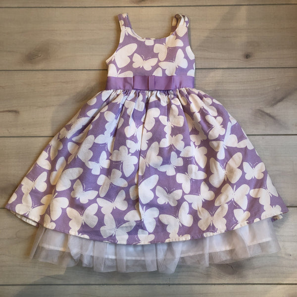 Perfectly Dressed Orchid Butterfly Dress - Sweet Pea & Teddy