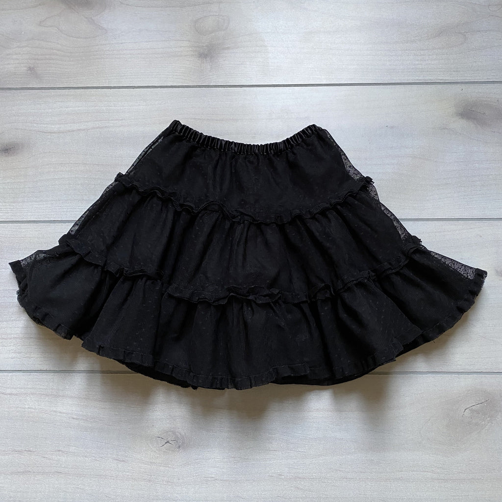 Hanna Andersson Black Tulle Skirt