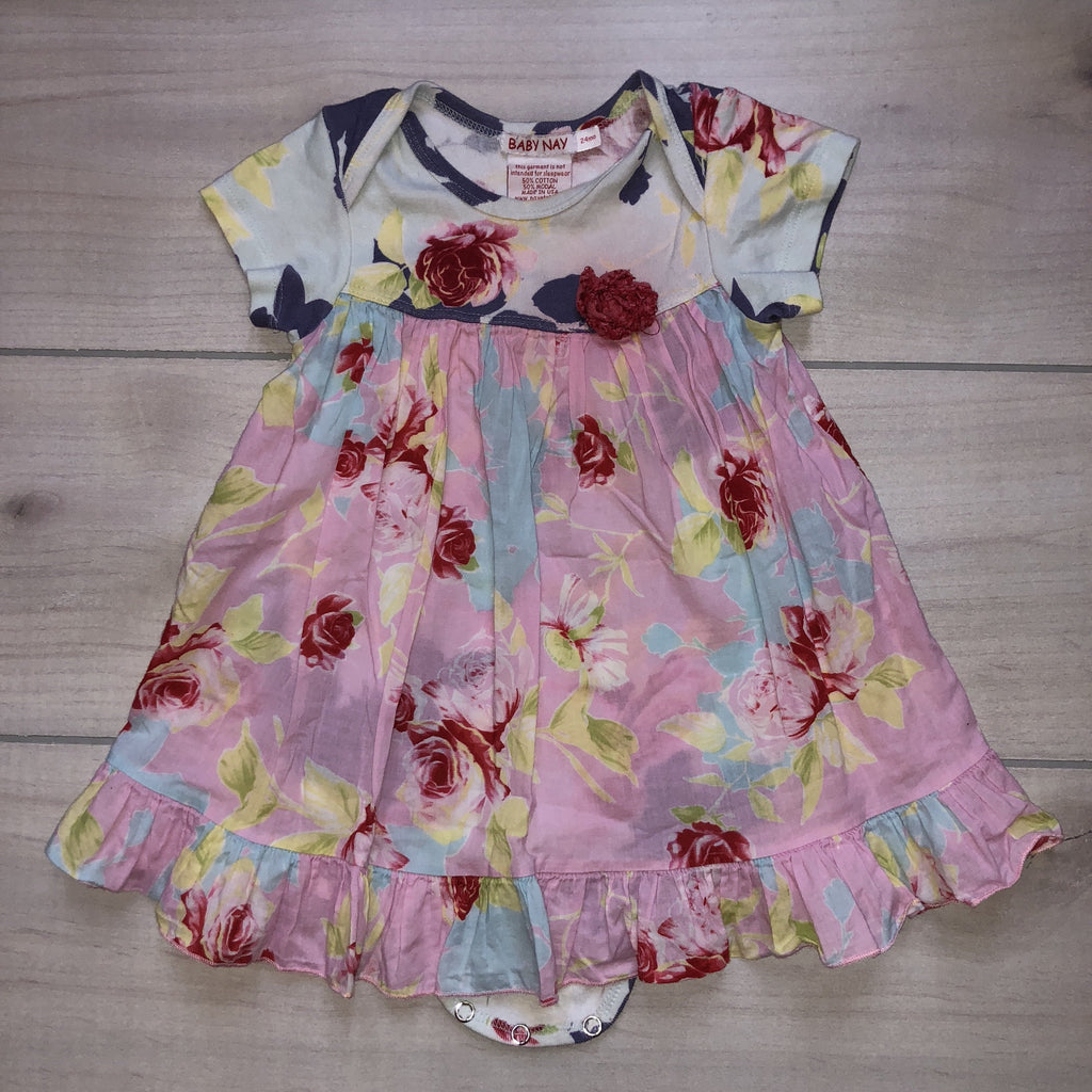 Baby Nay Shabby Chic Rose Dress