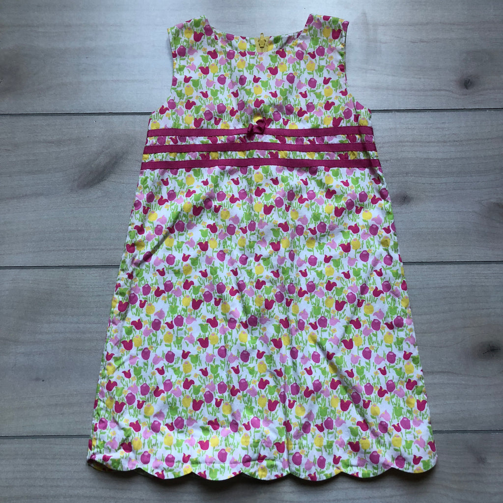 Lilly Pulitzer Tulip Pattern Shift Dress