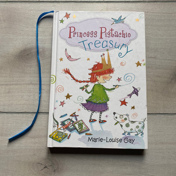 Princess Pistachio Treasury Hardcover Book