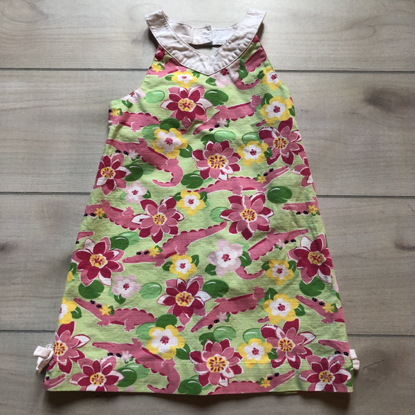 Gymboree Pink Croc Halter Style Dress - Sweet Pea & Teddy