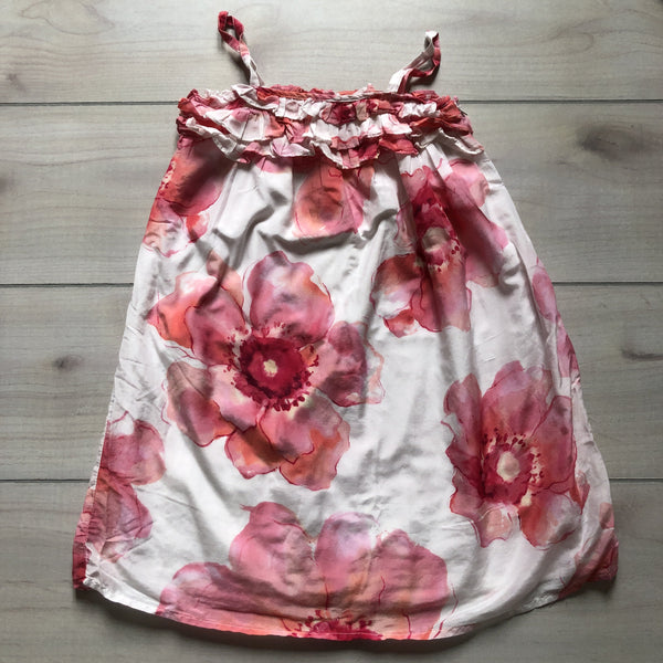 Gap Kids Pink & White Floral Sundress