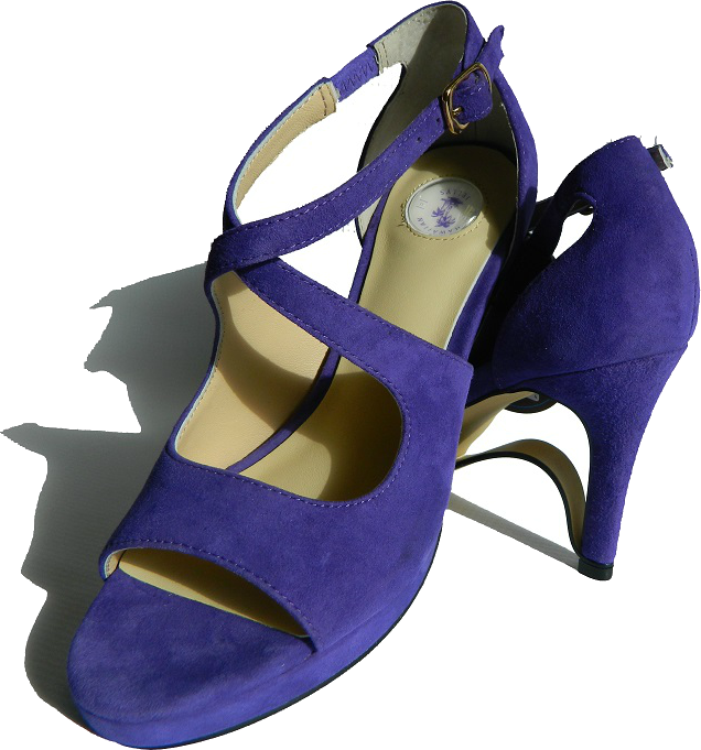 "NEW!! Ultra-Comfort High Heels with Stabilization""- Amethyst Purple NOW AVAILABLE!!"