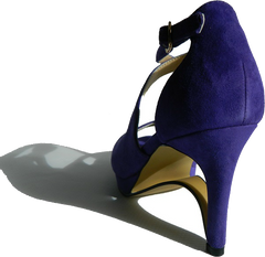 "NEW! Ultra-Comfort High Heels with Stabilization""- Amethyst Purple"