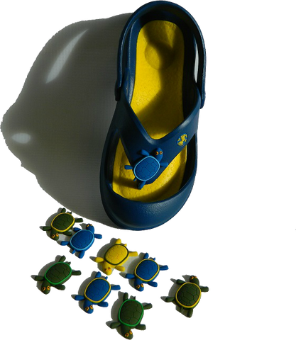 NEW!! Hawaiian JELLYBUGS® w/ neodymium magnet for Kids - Blue/Yellow NOW AVAILABLE!!