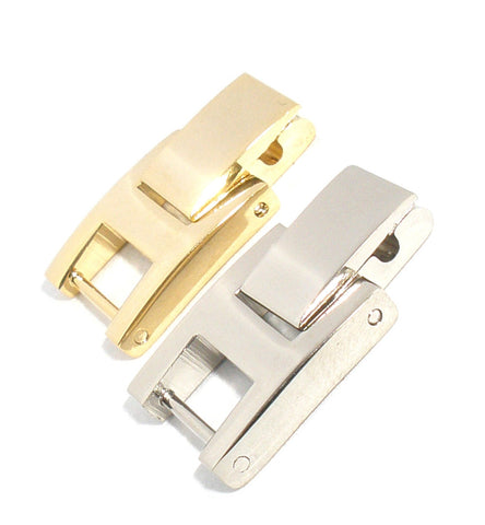 Stainless Steel H Clasp Watch Band Extenders: 2mm through 12mm, Two Of Each Size & Color