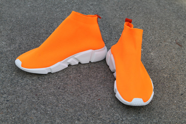 Sneaker Socks - Orange
