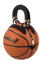"""Shooter"" Basketball Purse - Orange"