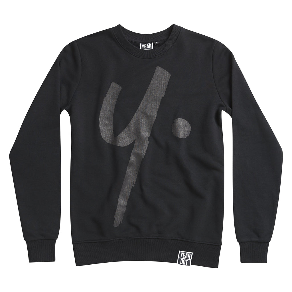Black On Black Sweat - Icon