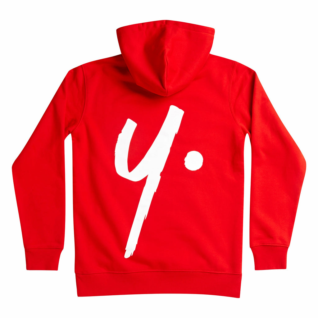 Red Pullover Hoodie - Icon