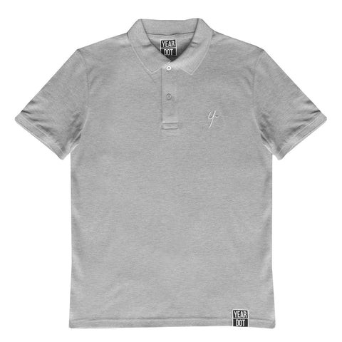Grey Polo Shirt - Stitch