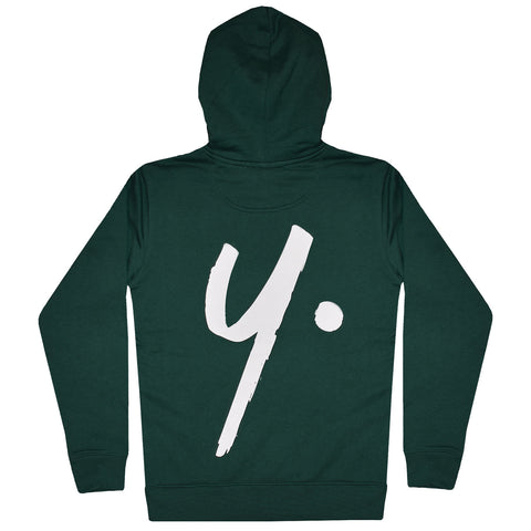 Green Pullover Hoodie - Icon