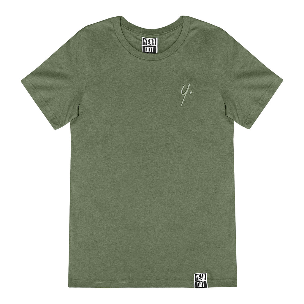 Khaki T-Shirt - Stitch