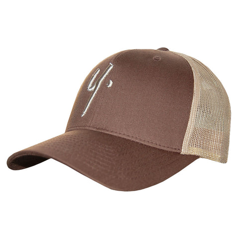 Sand/Brown Snapback - Icon