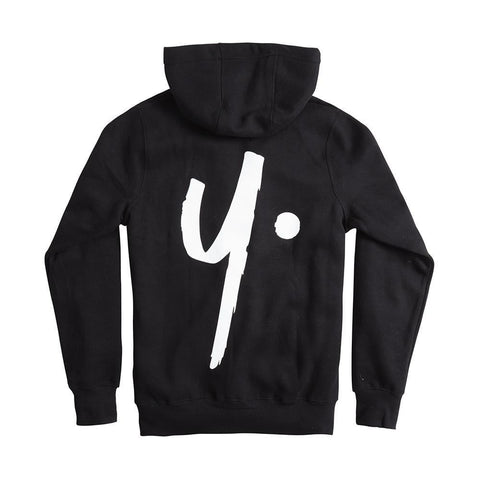 Black Pullover Hoodie - Icon