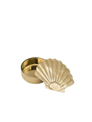 A-La Shell Ring Teeth Box Gold - 1love2hugs3kisses ibiza