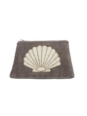 A-La Velvet pouch Shell - 1love2hugs3kisses Ibiza