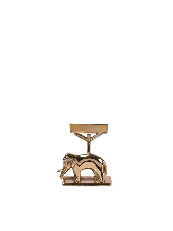 A-La Elephant Card holder gold - 1love2hugs3kisses Ibiza