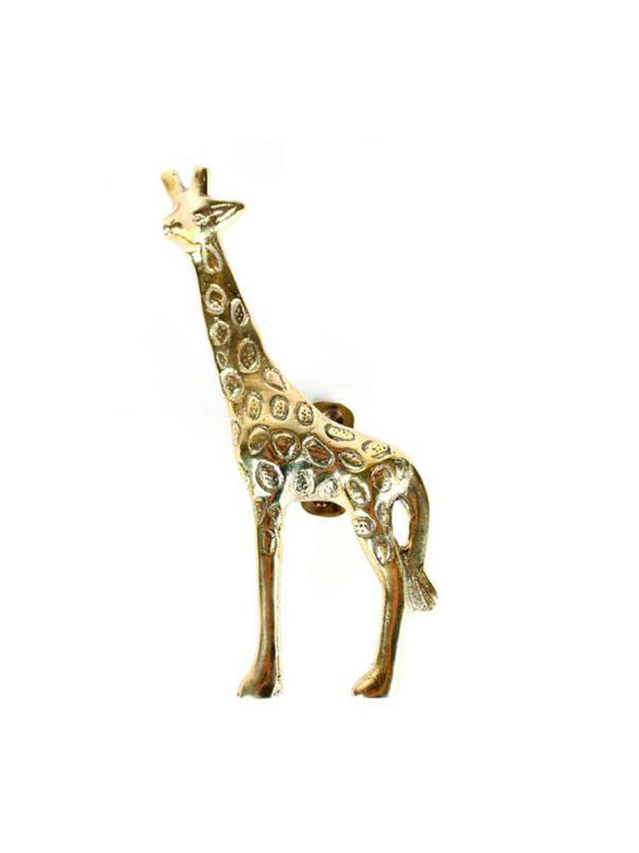 A-La Giraffe doorhandle Gold left