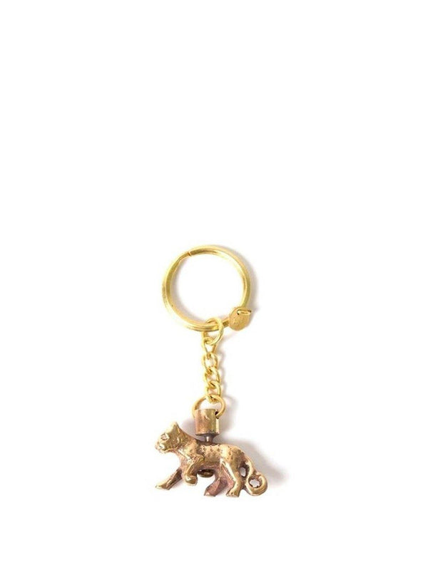 A-La Leopard Keychain gold - 1love2hugs3kisses Ibiza