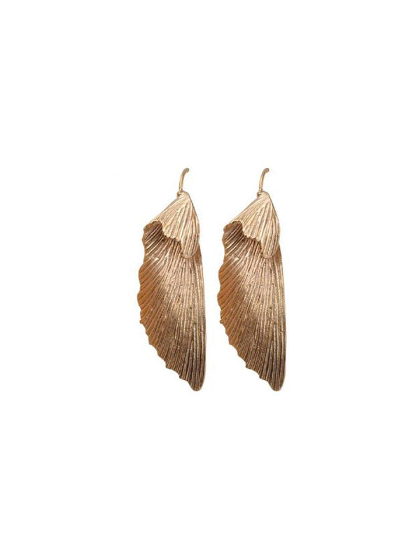 A-La Maple pair of Earrings Gold