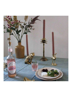 A-La Ostrich Candle Holder Gold