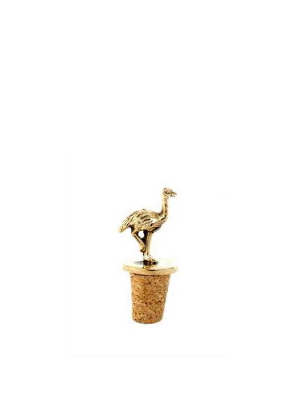 A-La Ostrich bottle stopper - 1love2hugs3kisses Ibiza