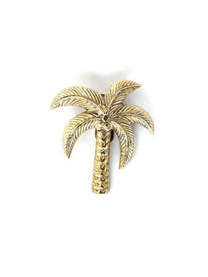 A-La Palmtree Door knocker Gold - 1love2hugs3kisses Ibiza