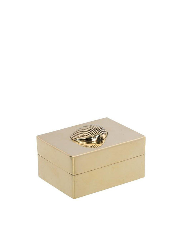 Anna + Nina Shell Trinket Box Gold - 1love2hugs3kisses Ibiza