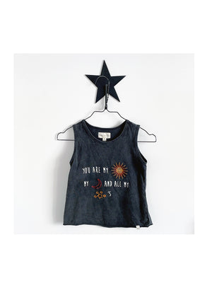 Pre Loved Children Of The Tribe Sun Moon Stars Singlet - 1love2hugs3kisses ibiza
