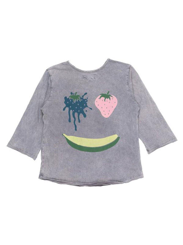 Children of the Tribe Fruit Face Raglan Tee - 1love2hugs3kisses Ibiza