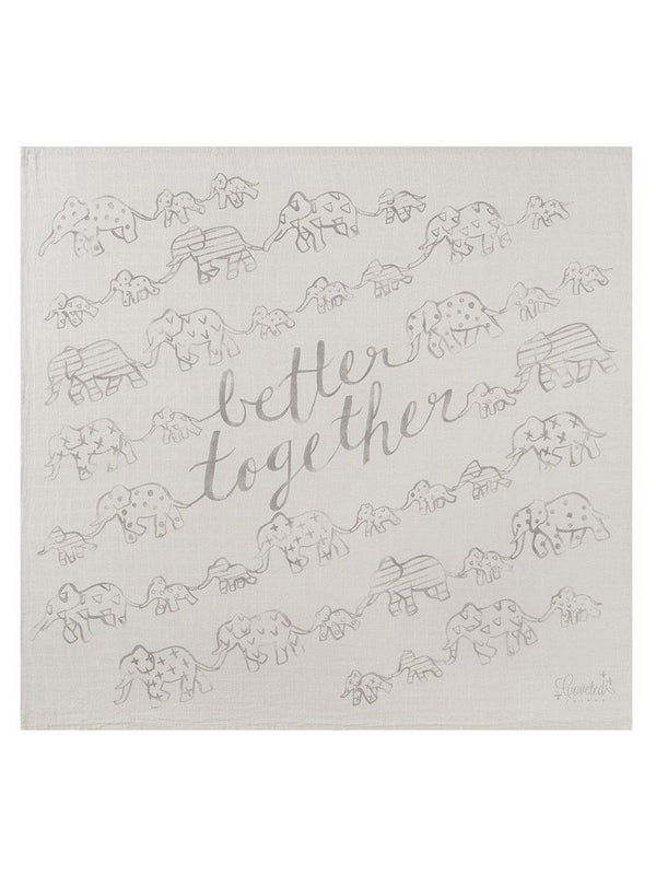Coveted Things Better Together Organic Swaddle Scarf™ - 1love2hugs3kisses Ibiza