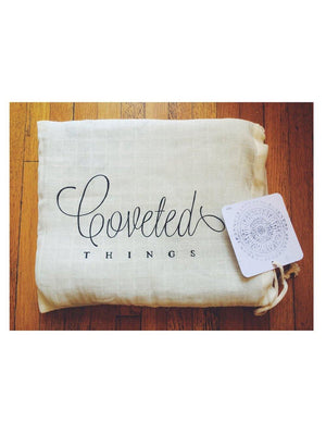 Coveted Things Faded Arrows Organic Swaddle Scarf™ - 1love2hugs3kisses Ibiza