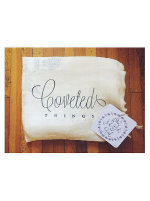 Coveted Things Shit Just Got Real™ Organic Swaddle Scarf™ - 1love2hugs3kisses Ibiza
