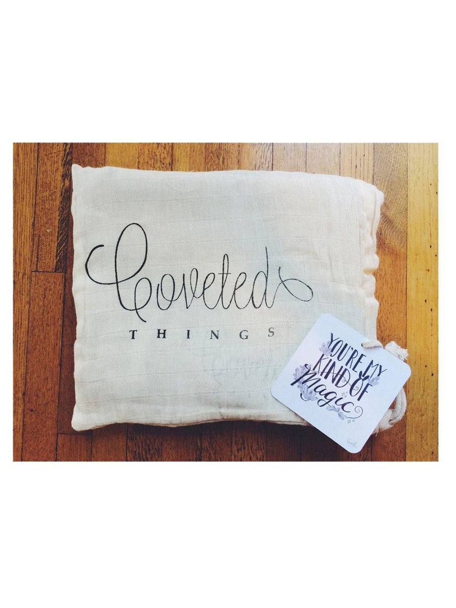 Coveted Things You're My Kind Of Magic Organic Swaddle Scarf™