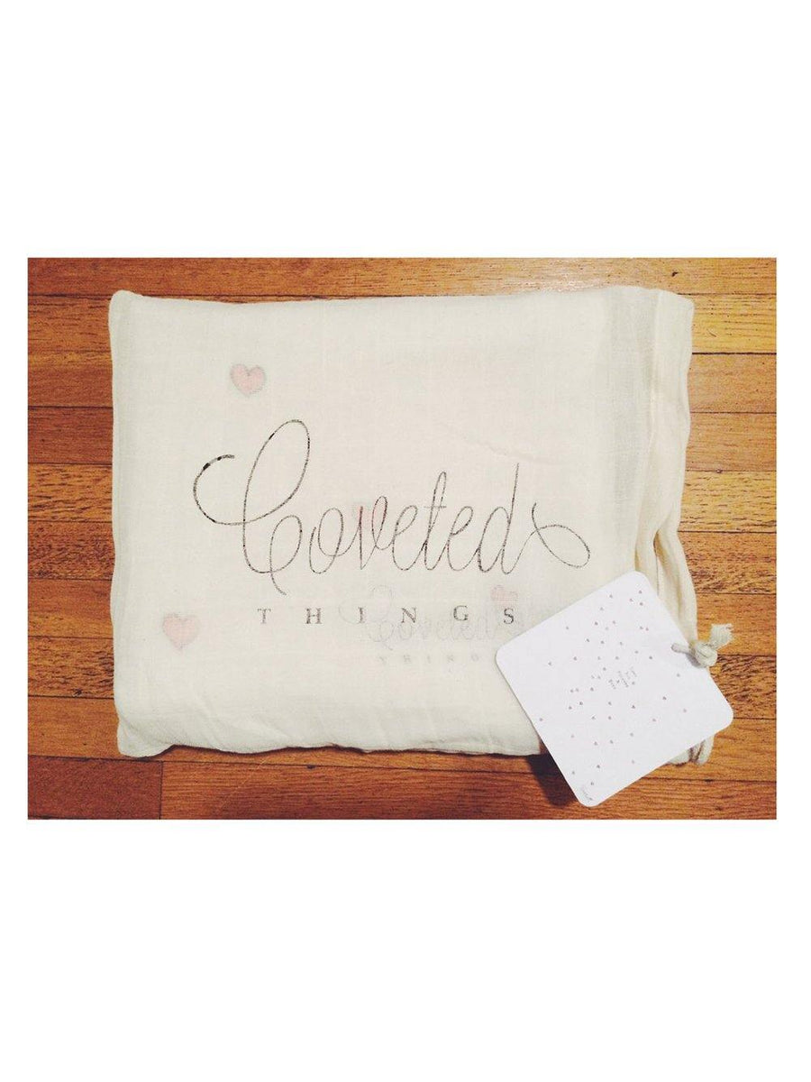 Coveted Things Love You Forever & Ever Organic Swaddle Scarf™ - 1love2hugs3kisses Ibiza