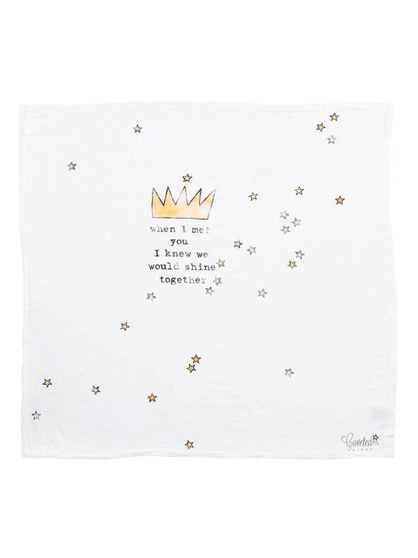 Coveted Things Crown Organic Swaddle Scarf™