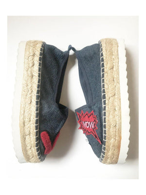 Colors Of California Espadrilles blue red - 1love2hugs3kisses Ibiza