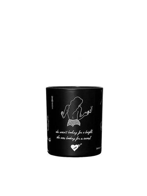 Damselfly Belle - Large Candle - 1love2hugs3kisses Ibiza