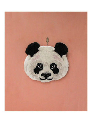 Doing Goods Plumpy Panda Head Rug - 1love2hugs3kisses Ibiza