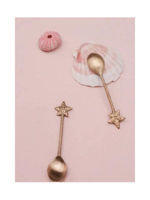 Doing Goods Dori Star spoon set of 2 - 1love2hugs3kisses Ibiza