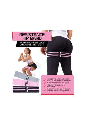 FITFX Set of 3 Resistance Bands multi colors - 1love2hugs3kisses ibiza