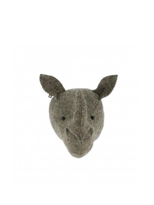 Fiona Walker England Rhino Head Mini - 1love2hugs3kisses ibiza