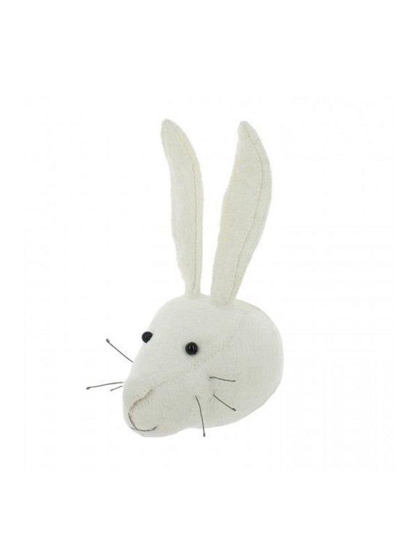 Fiona Walker England Rabbit Mini Head White - 1love2hugs3kisses ibiza