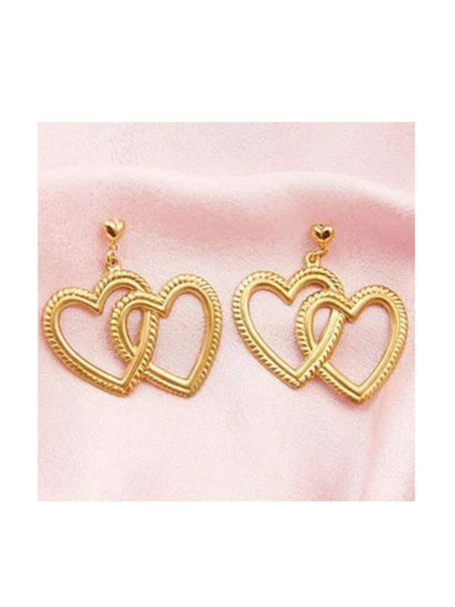 Frasier Sterling Fake Love Earrings - 1love2hugs3kisses Ibiza
