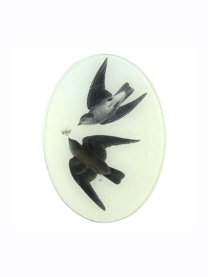 John Deriam Rough Winged Swallow Plate - 1love2hugs3kisses Ibiza