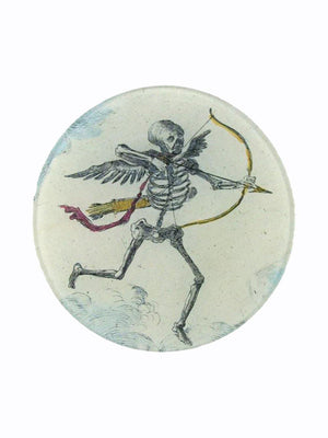 John Deriam Skeleton with Arrow Plate - 1love2hugs3kisses Ibiza