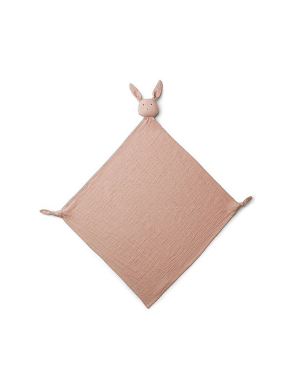 Liewood Robbie Muslin Cuddle Cloth Rabbit Rose - 1love2hugs3kisses Ibiza